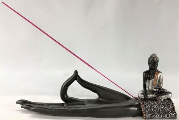 Picture of Buddha hand incense holder