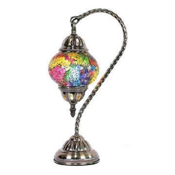 Picture of Turkish swan mosaic lamp