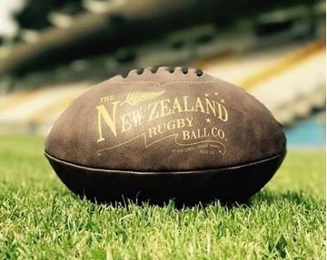 Picture of Antique rugby ball mini