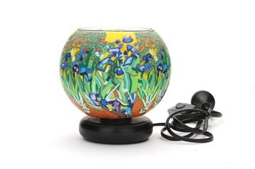 Picture of 15cm lamp irises