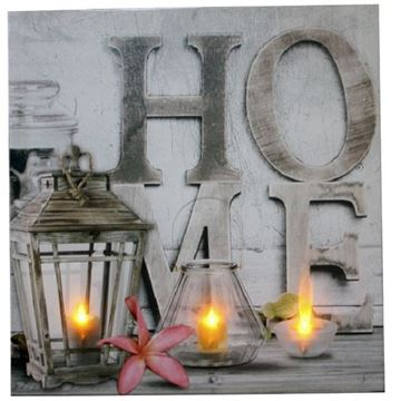 Picture of Light up picture home