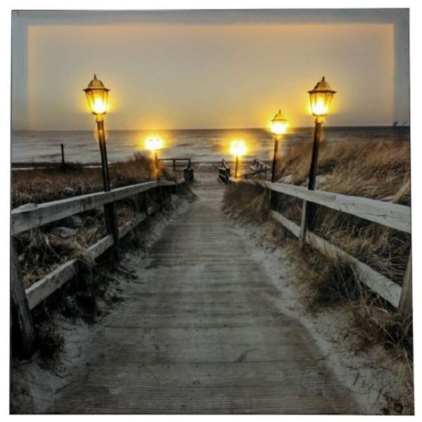Picture of Light picture boardwalk