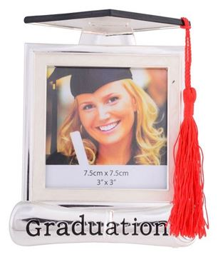 Picture of 3x3 graduation hat frame