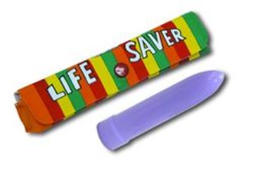 Picture of Lifesaver novelty vibrator