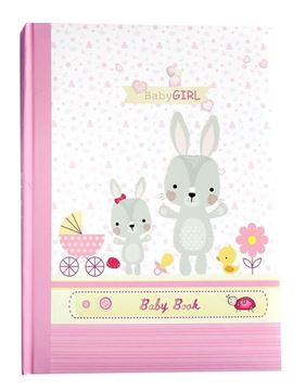 Picture of Baby record book pink