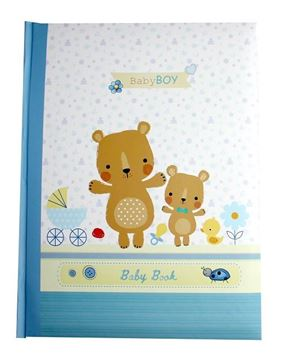 Picture of Baby record book blue