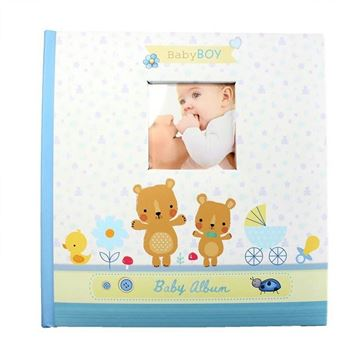 Picture of Baby photo album blue