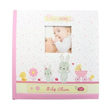 Picture of Baby photo album pink
