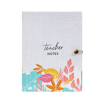 Picture of Teacher colourful notepad