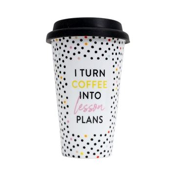 Picture of Teacher coffee travel mug