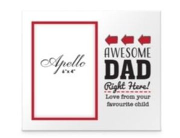 Picture of Awesome dad frame