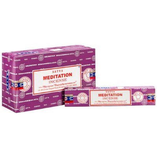 Picture of Meditation satya incense