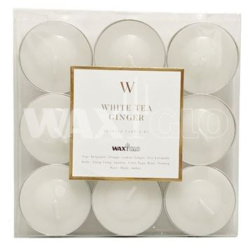Picture of White tea & ginger tealights