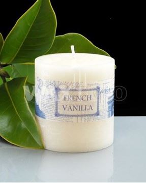 Picture of French vanilla 70x75mm candle