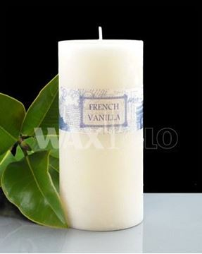 Picture of French vanilla 70x150mm candle