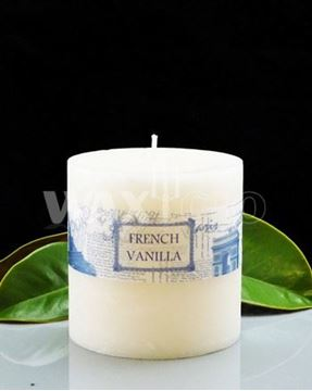 Picture of French vanilla 90x90mm candle