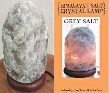 Picture of Rare grey salt lamp 1.5-2kg