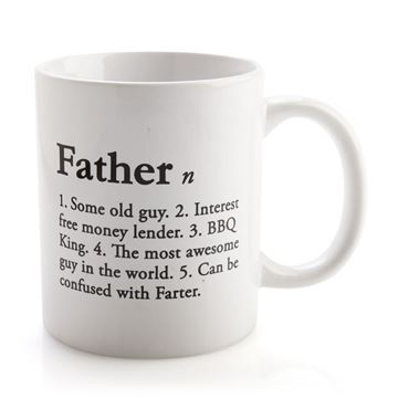 Picture of Father definition mug