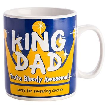Picture of King dad giant mug