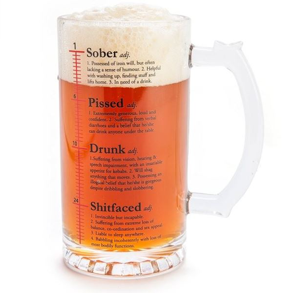 Picture of Drinktionary beer stein