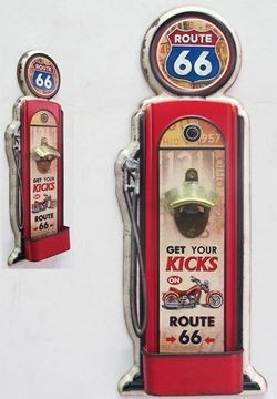 Picture of Petrol pump route 66