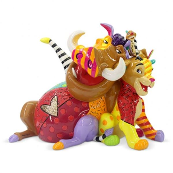 Picture of Lion king med figurine
