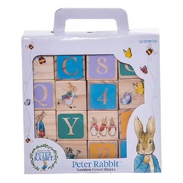 Picture of Peter rabbit wooden blocks