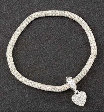 Picture of EQ sparkle heart bracelet