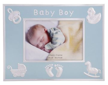 Picture of 6x4 Baby boy frame