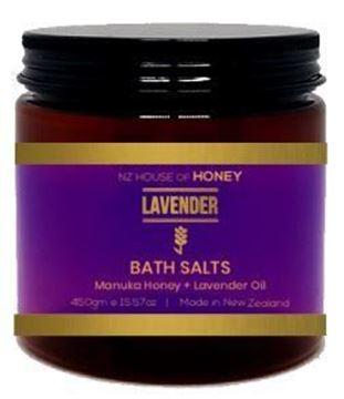 Picture of Lavender oil bath salts