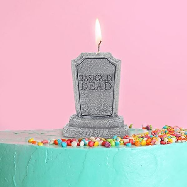 Picture of Basically dead candle