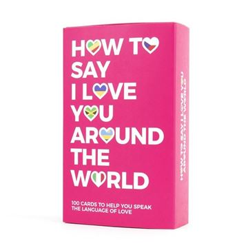 Picture of How to say I love you globally