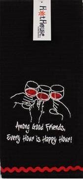 Picture of Tea towel wine happy hour