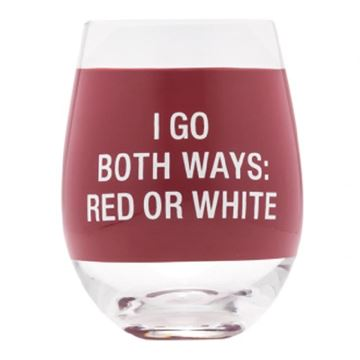 Picture of Wine glass both ways