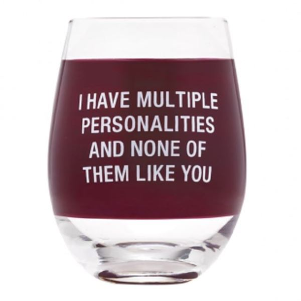 Picture of Wine glass multiple personal