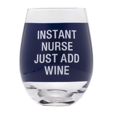 Picture of Wine glass instant nurse