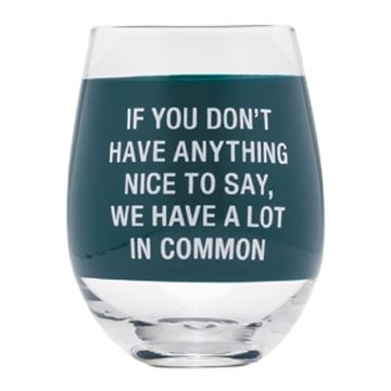 Picture of Wine glass a lot in common