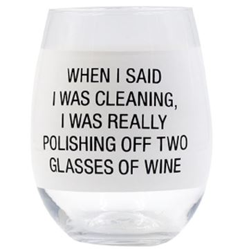 Picture of Wine glass polishing off