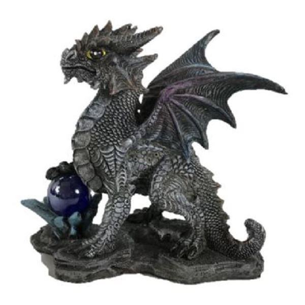 Picture of Dragon with glass ball