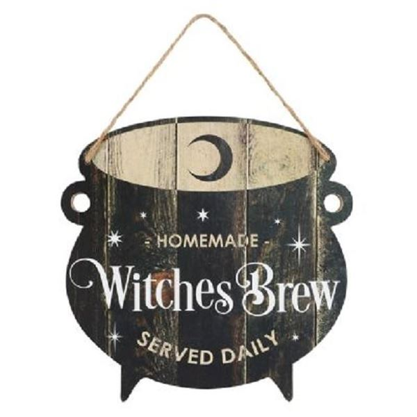 Picture of Witches brew cauldron sign