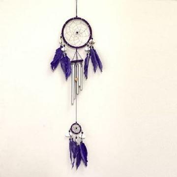 Picture of Dreamcatcher purple windchime