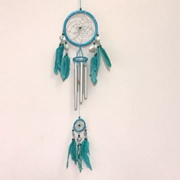 Picture of Dreamcatcher teal windchime