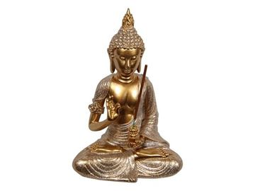 Picture of 21cm gold rulai buddha