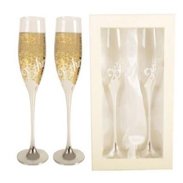 Picture of 25th anniversary flutes set 2