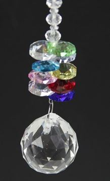 Picture of Round crystal drop