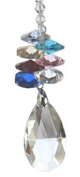 Picture of Teardrop crystal 18.5cm