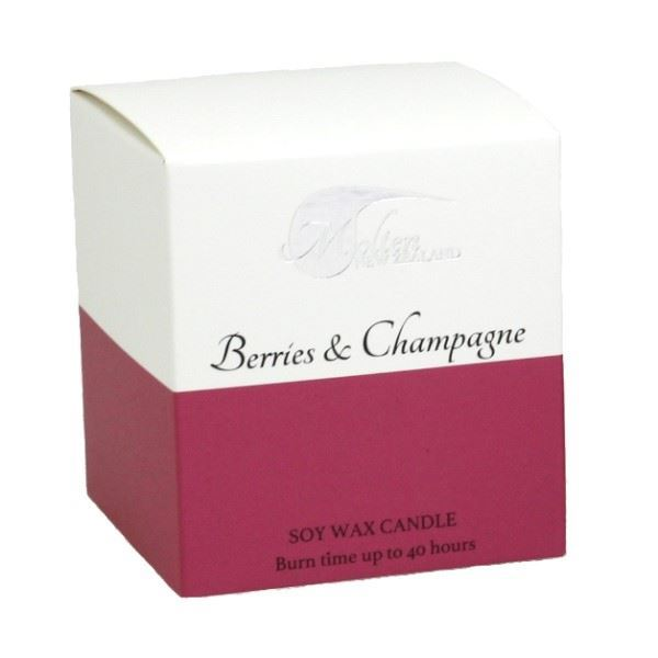 Picture of Berries & champagne soy candle