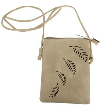 Picture of Taupe fern bag