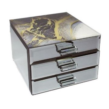 Picture of Treasured cove jewellery  box with drawers