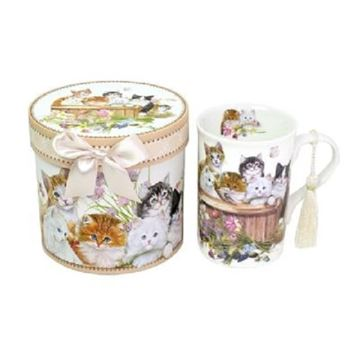 Picture of Cat mug with gift box
